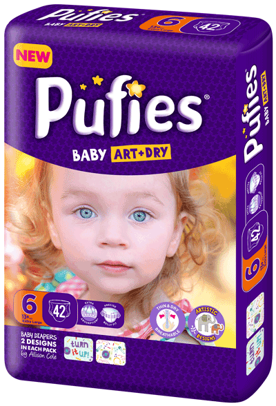 Pufies Package Size 6